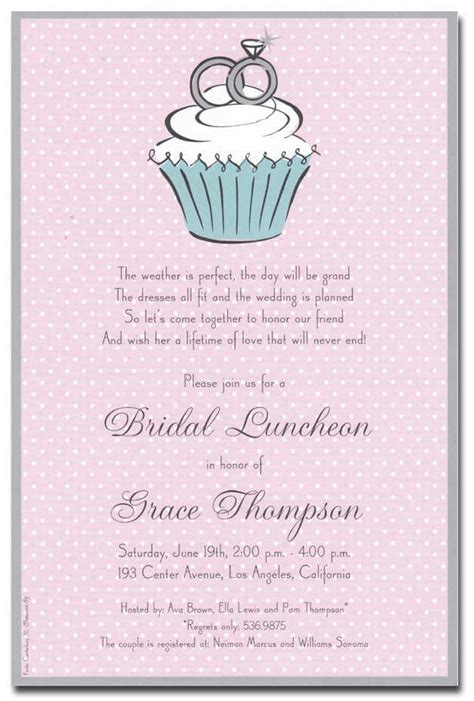 bridal shower invitation cards templates bridal shower invitation wording fotolip rich image