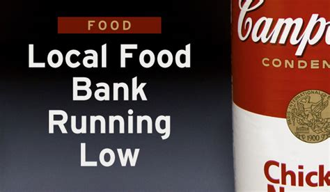 Cary Food Pantry by Food Local Food Bank Running Low Carycitizen