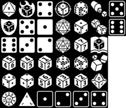 dice icons game iconsnet