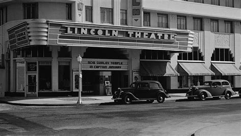 lincoln theater miami miami lincoln theater stainless steel plaques impact signs