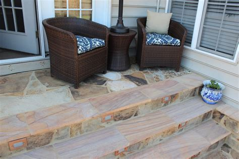 do i color options for flagstone walks and patios