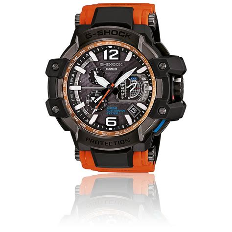 Gshock Gpw1000 Orange montre gps gpw 1000 4aer orange casio g shock ocarat