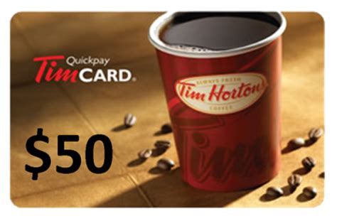Tim Hortons Giveaway - free 50 tim horton gift card giveaway free stuff finder canada