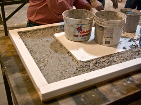 Terrazzo Concrete Countertops by Three Pouring Cheng Concrete Exchange