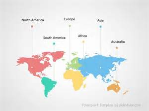 world map template world map infographic powerpoint template slidesbase