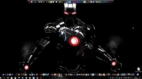 wallpaper engine avengers dark iron man youtube
