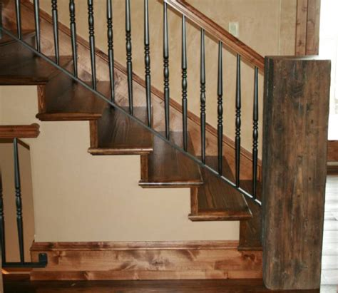 banister ideas reclaimed wood railings mountain style remodeling inc