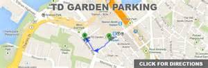 td garden parking propark boston