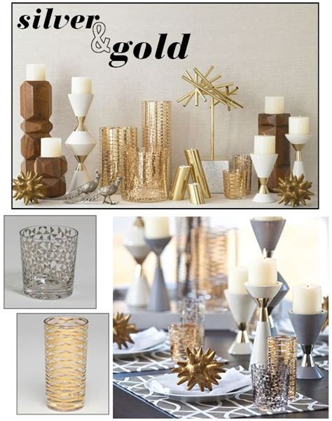 gold and silver home decor best 25 mixed metals ideas on pinterest metallic metal