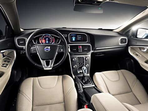 volvo hatchback interior volvo v40 hatchback claims the s pedestrian