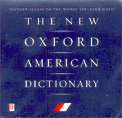 the new oxford american dictionary the new oxford american dictionary cd rom