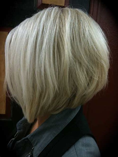 picture front and back views of the stacked bob hairstyles short stacked bob haircut back view