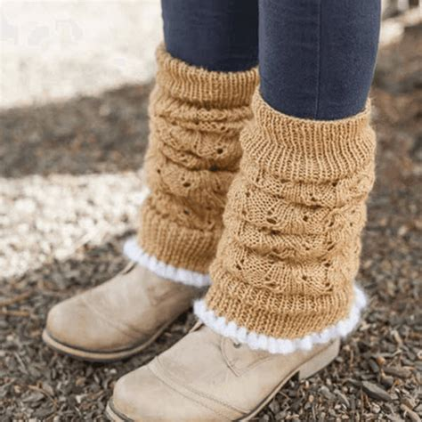leg warmers knitting pattern 8 ply leg warmers uberyarn