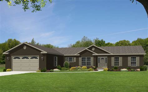 single story ranch homes glamorgan modular home floor plan