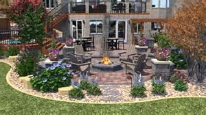 Home Design 3d Outdoor Garden by Backyard Firepit And Retreat In Eden Prairie Mn