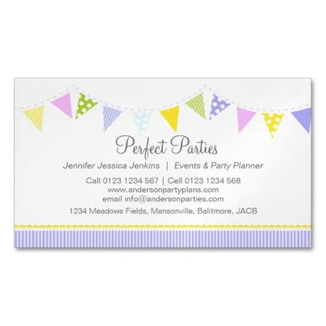 planning cards template event planning business cards 12 best event planner