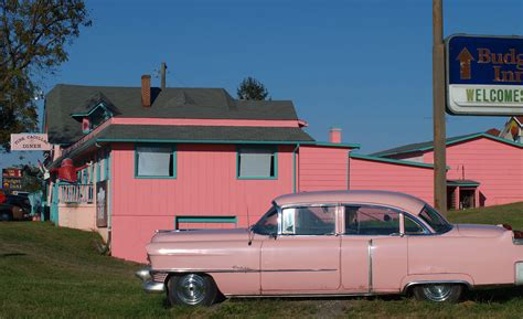 pink cadillac diner bridge the venting machine my so far in the land of fries