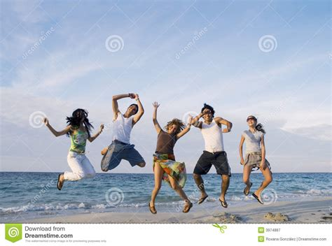 happiness team happy team jumping stock image image of activities girls