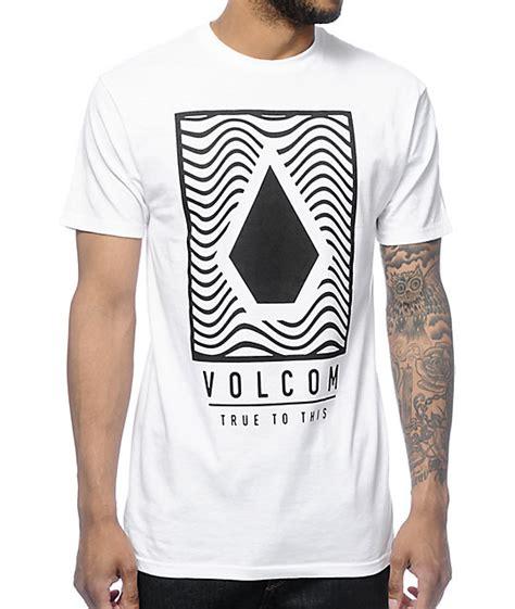 Tshirt Volcom 94 volcom mysteric white t shirt