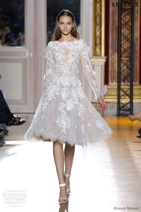 zuhair murad fall  couture wedding inspirasi page