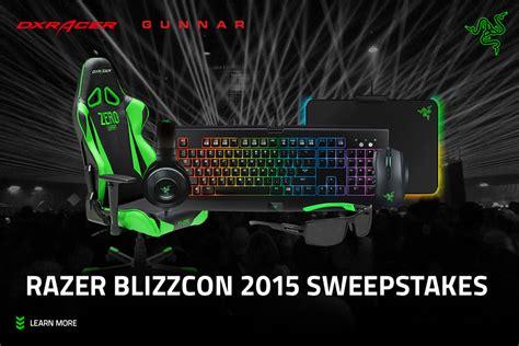 Razer Giveaway - giveaway over razer blizzcon 2015 sweepstakes razer insider forum