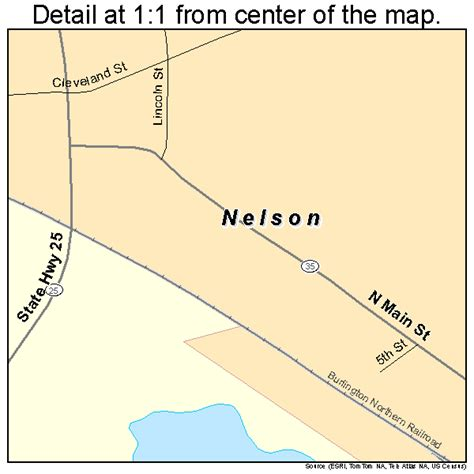 Nelson Wi nelson wisconsin map 5555950