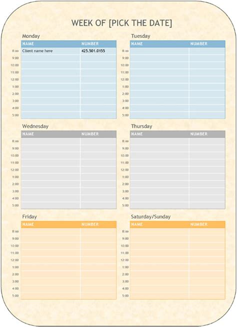 8 Appointment Scheduling Scheduler Templates Download Word Pdf Sles Appointment Scheduling Template