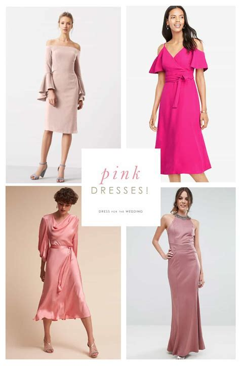 Pink Dresses   Pink Wedding Guest Dresses
