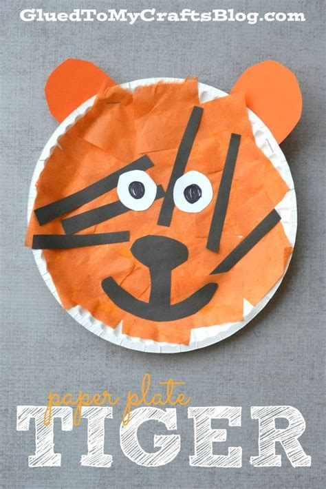 And Craft Paper Plate - 25 unique tiger crafts ideas on tigers for