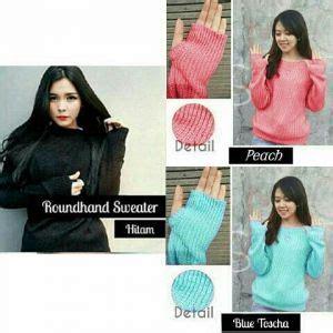 Sweater Jaket Baju Rajut Baju Wanita Cleo X Sweater baju sweater denim wanita lucu model terbaru murah