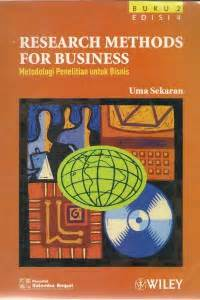 Metode Penelitian Bisnis Jilid 1 By Umas Sekaran open library research methods for business metodologi