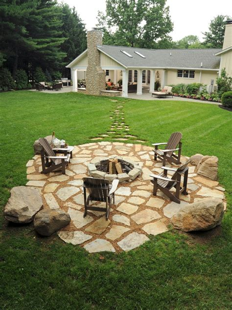 Backyard Patios With Pits by 19 Impressive Outdoor Pit Design Ideas For More