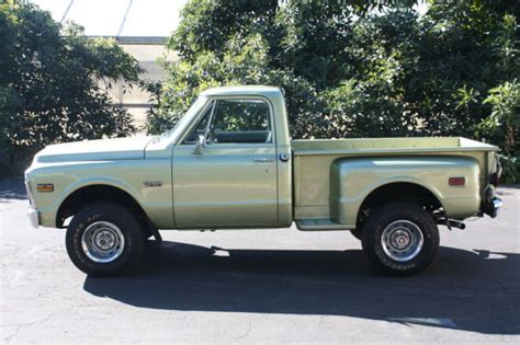 short bed truck cer craigslist 1972 gmc chevy k 10 short bed step side 4x4 4 speed