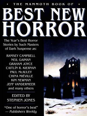 best new horror the mammoth book of best new horror 2003 volume 14 by