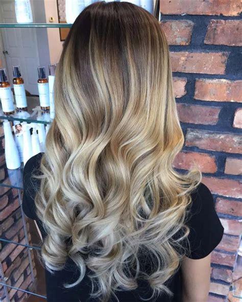 Dark Hair With Blonde Highlights Ideas