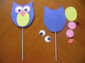 free printable wildlife and owl crafts for preschool
