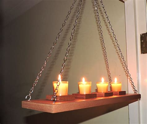 wall hanging candles wall ceiling hanging rustic candle holderrustic moder wooden