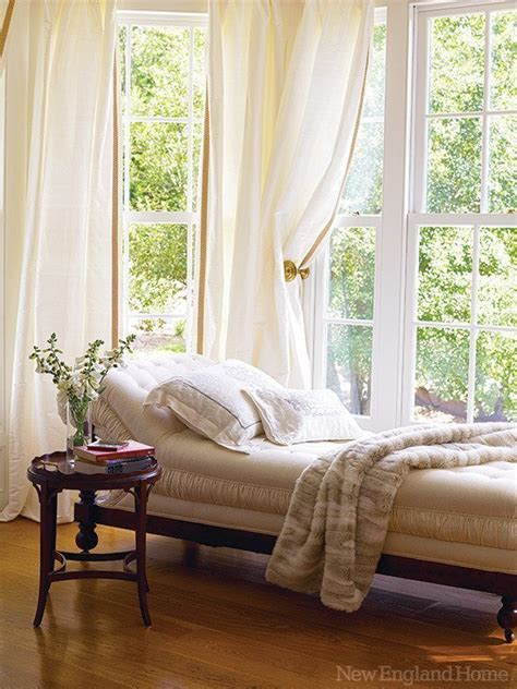window chaise lounge dressed to impress new england home magazine