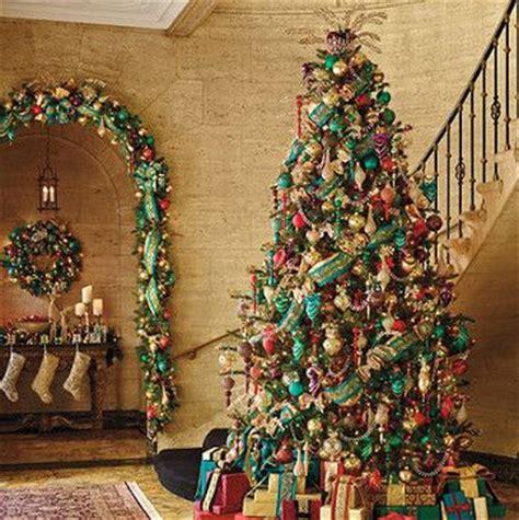 jewel tone christmas tree christmas decorating ideas