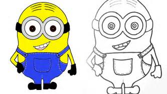 minion colors minion how to draw and color a minion step by step