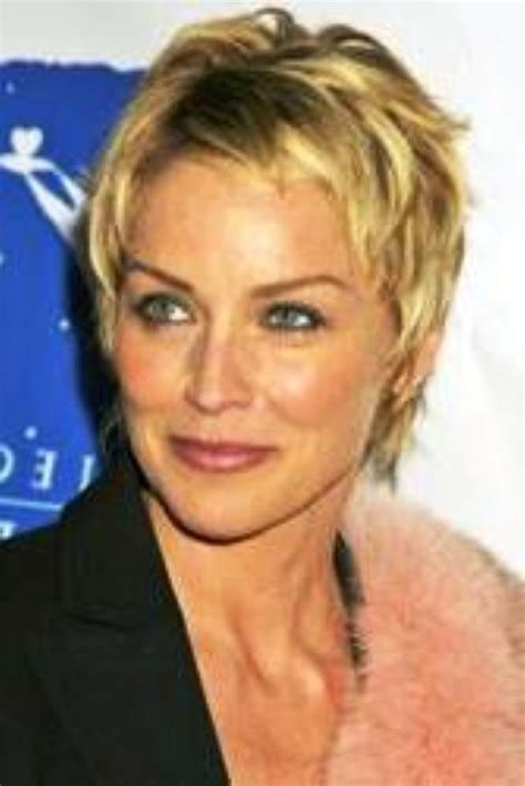sharon stone haircut 2014 sharon stone short hairstyle pictures places to visit