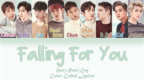 exo she s dreaming lyrics color coded han rom exo falling for you han rom eng color coded lyrics