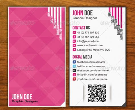 qr code business card template pin by joanne boyko on business cards and branding