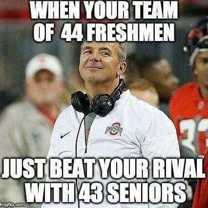 Ohio State Football Memes - best 25 ohio state football ideas on pinterest ohio