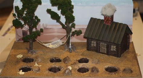 holes book report ideas can you guess which books inspired these dioramas