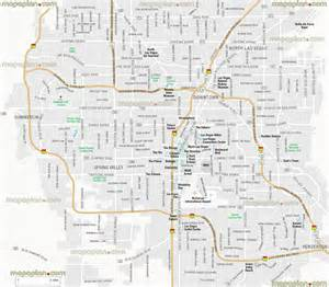 Las Vegas Map by Map Of Las Vegas You Can See A Map Of Many Places On The