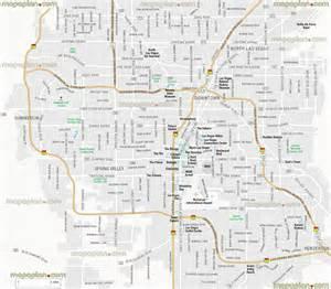 Map Of Las Vegas Area by Las Vegas Map Metropolitan Area Guide Greater Las