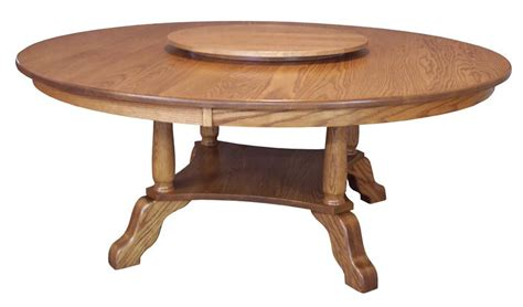 Amish Hardwood Traditional Round Table
