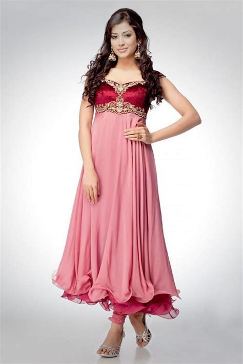 Pakistani Anarkali Dresses Latest Collection 2013 Trendy | frock suit party wear designs latest designs for girls