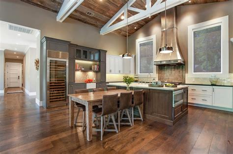 kitchens and interiors beautiful farmhouse style ranch home designed for outdoor living modern house designs